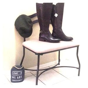Women's Cole Haan tall leather boots - sz 6.5
